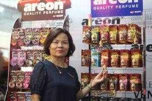 Dấu ấn nước hoa ô tô Areon tại triển lãm motorshow Việt Nam 2016