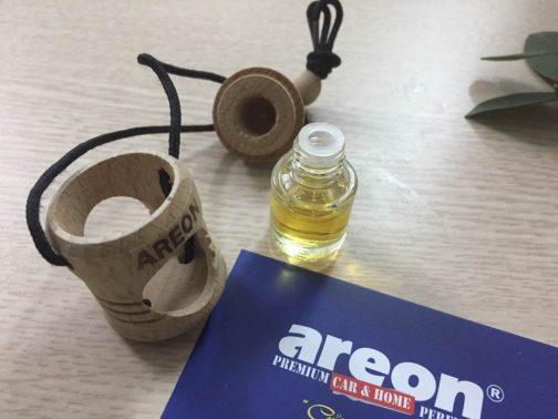 Ảnh chụp bộ sản phẩm tinh dầu treo xe Areon