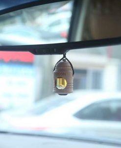Tinh dầu treo xe Areon trên xe gương chiếu hậu ô tô