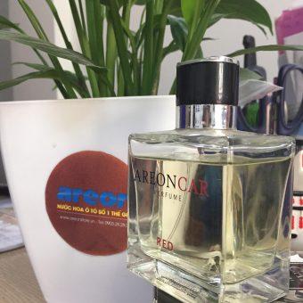 Hình ảnh chai nước hoa ô tô cao cấp Areon Car Red Perfume