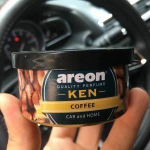 Trên tay sáp thơm ô tô hương cafe Areon