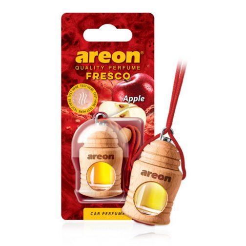 Tinh dầu treo xe ô tô hương táo - Areon Fresco Apple