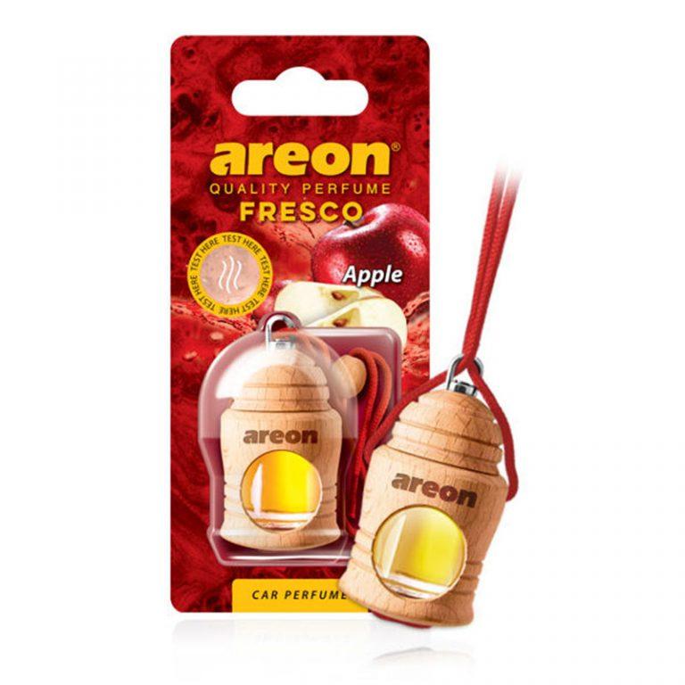 Tinh dầu treo xe ô tô hương táo – Areon Fresco Apple
