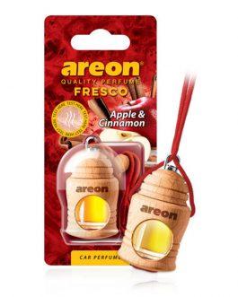 Tinh dầu treo xe ô tô hương táo & quế – Areon Fresco Apple & Cinnamon