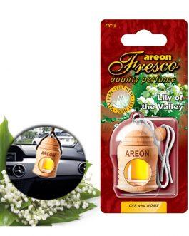 Tinh dầu treo xe ô tô Areon Fresco Lily of the Valley, mùi hoa lan chuông