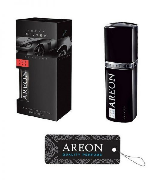Areon Silver Car Lux
