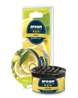 Sáp thơm ô tô hương chanh – Areon Ken Lemon
