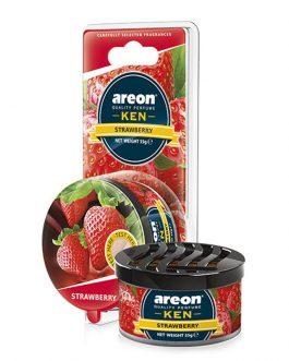 Sáp thơm ô tô hương dâu tây – Areon Strawberry Ken