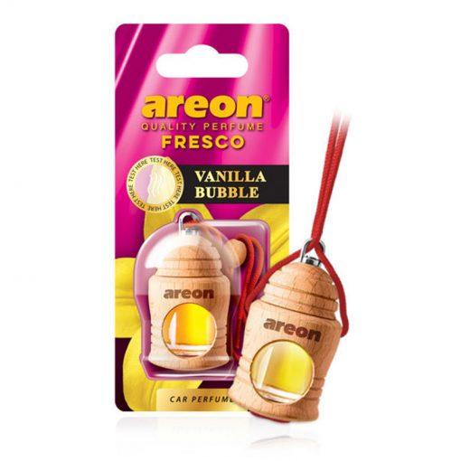 Tinh dầu treo xe ô tô Areon Fresco Vanilla Bubble Gum