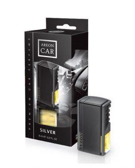 Nước hoa kẹp cửa gió điều hòa Areon Silver Car Lux