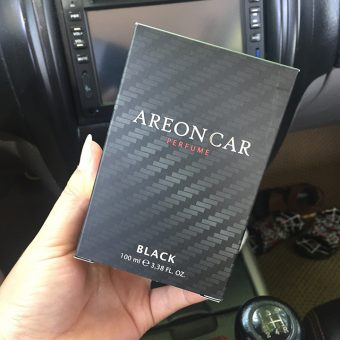 Nước hoa ô tô Areon Car Black 100ml