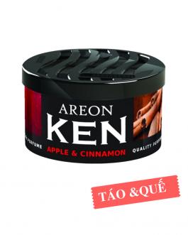 Sáp thơm ô tô hương táo & quế – Areon Ken Apple & Cinnamon