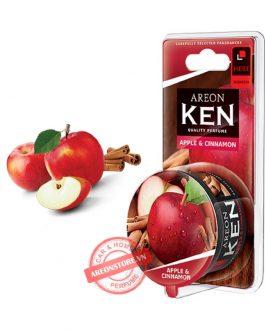 Sáp thơm để phòng hương táo & quế – Areon Ken Apple & Cinnamon