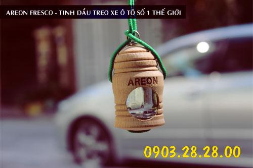 Địa chỉ phân phối nước hoa ô tô Areon chính hãng và uy tín nhất Hà Nội