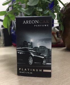 nước hoa ô tô dạng xịt Areon Car Platinum 50ml