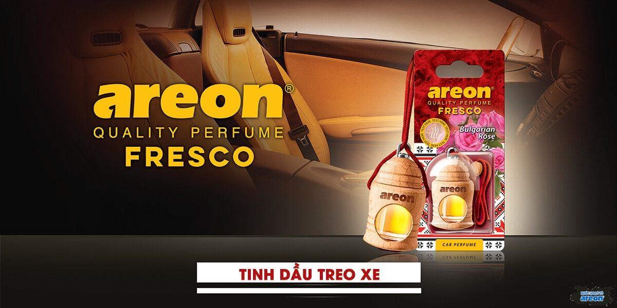 Tinh dầu treo xe Areon cao cấp banner