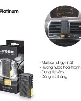 Nước hoa kẹp cửa gió điều hòa Areon Platinum Car Lux
