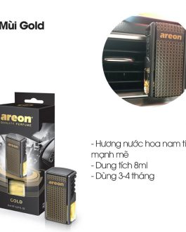 Nước hoa kẹp cửa gió điều hòa Areon Gold Car Lux